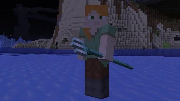 Cómo obtener el tridente para realizar el encantamiento empalar en Minecraft.
