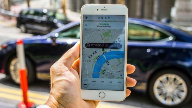 Cómo solicitar un viaje en Uber