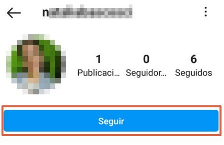 Cómo ver una cuenta de Instagram privada enviando una solicitud de seguimiento paso 4