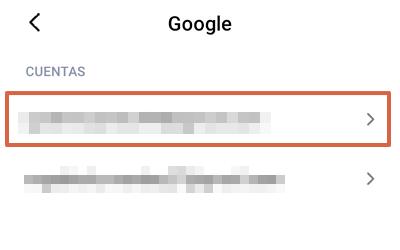 Google Play Store se detuvo causas y soluciones. Qué hacer si sale el error Google Play se ha detenido. Borrar la cuenta de Google. Paso 2