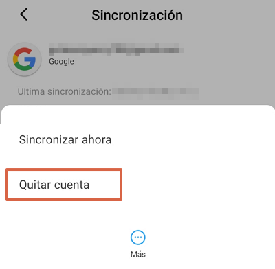 Google Play Store se detuvo causas y soluciones. Qué hacer si sale el error Google Play se ha detenido. Borrar la cuenta de Google. Paso 3