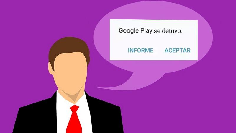 Google Play Store se detuvo causas y soluciones