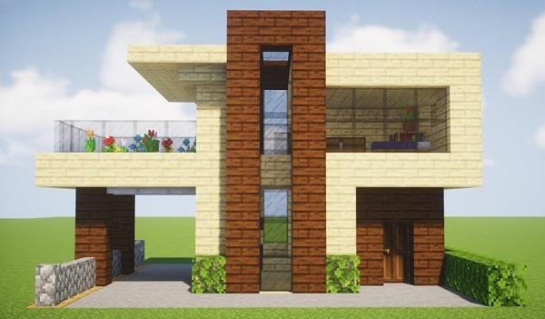 Materiales para construir casas modernas en Minecraft
