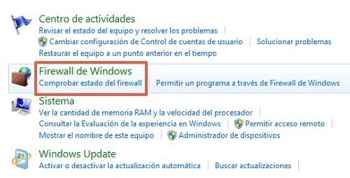 Restablecer la conexión del servidor DNS deshabilitando el Firewall de Windows paso 3