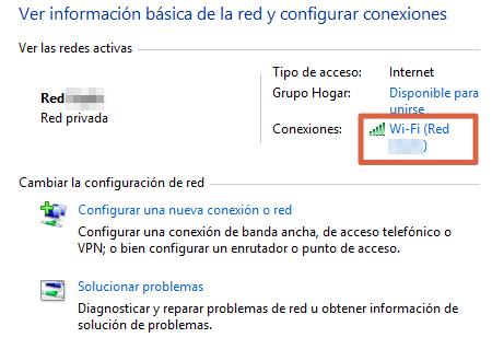 Restablecer la conexión del servidor DNS deshabilitando el IPv6 paso 2