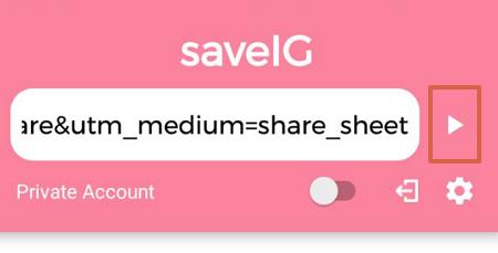 cómo descargar fotos, vídeos, stories, igtv y reels de Instagram usando SaveIG en versión móvil paso 8