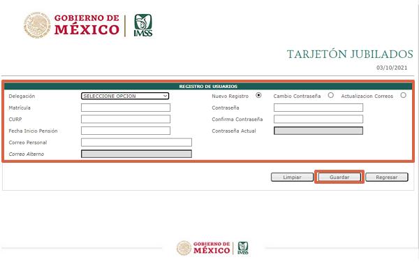 Cómo realizar el registro en línea del IMSS paso 2