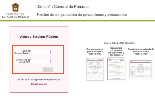 Cómo realizar la emisión emisión de percepciones y deducciones en el portal de Gestión Interna g2g paso 4